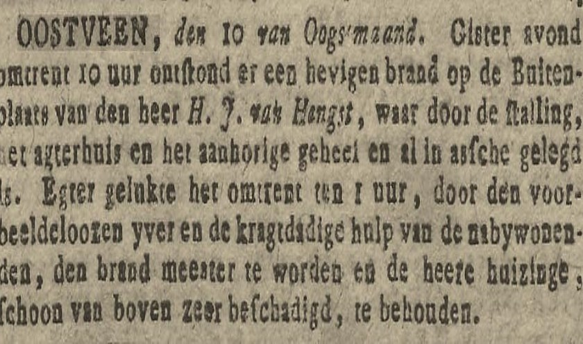 Brand in stal (1810)